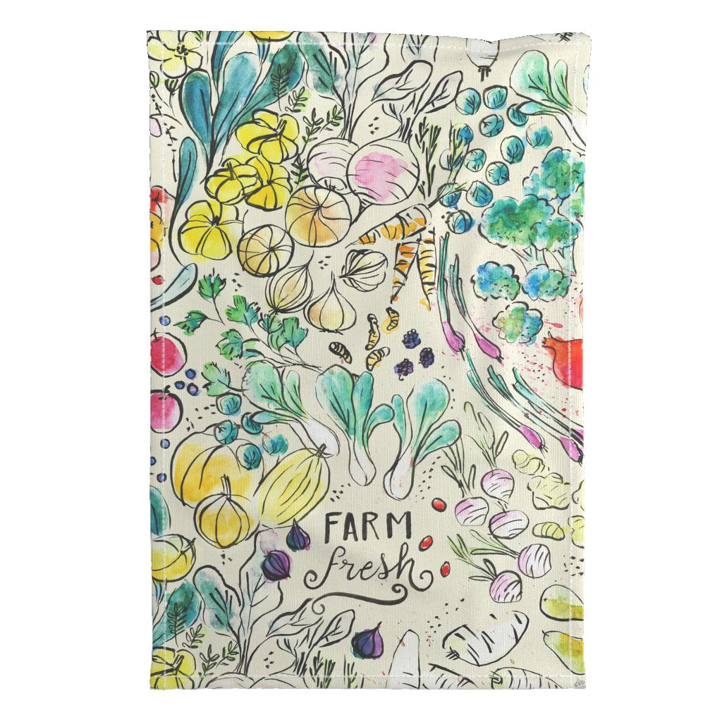 50 tea towels for everyone on your list | Spoonflower Blog