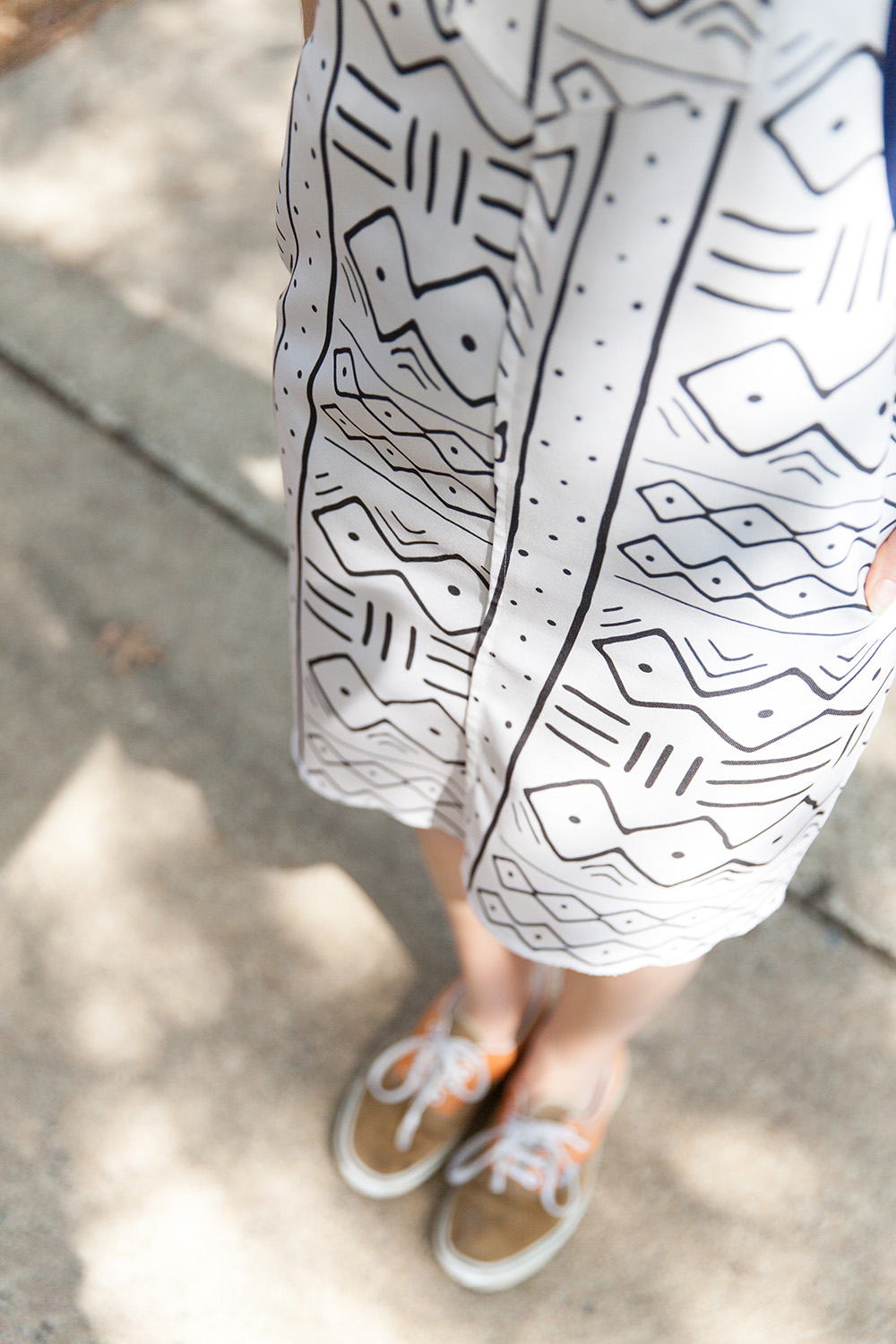 The Cleo overall dress featuring Eco Canvas | Spoonflower Blog