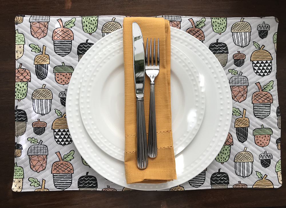 Quilted DIY Placemat | Spoonflower Blog