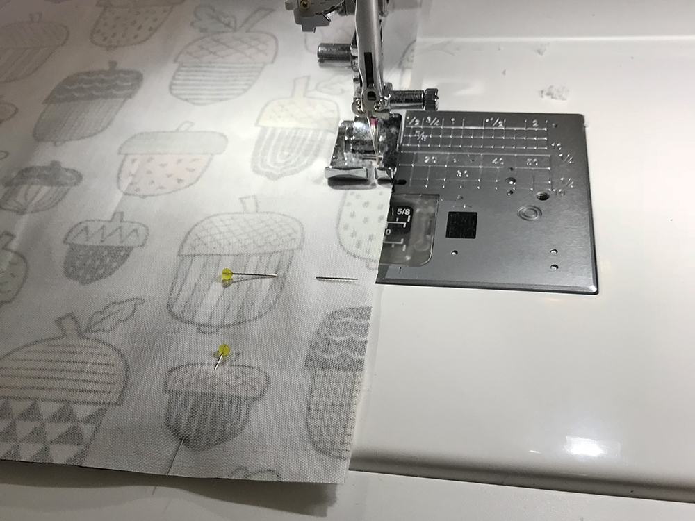 Stitch your placemat layers | Spoonflower Blog