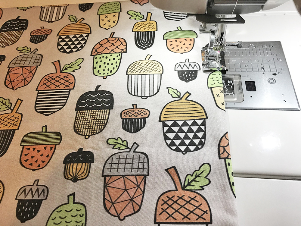 Topstitch your placemat | Spoonflower Blog