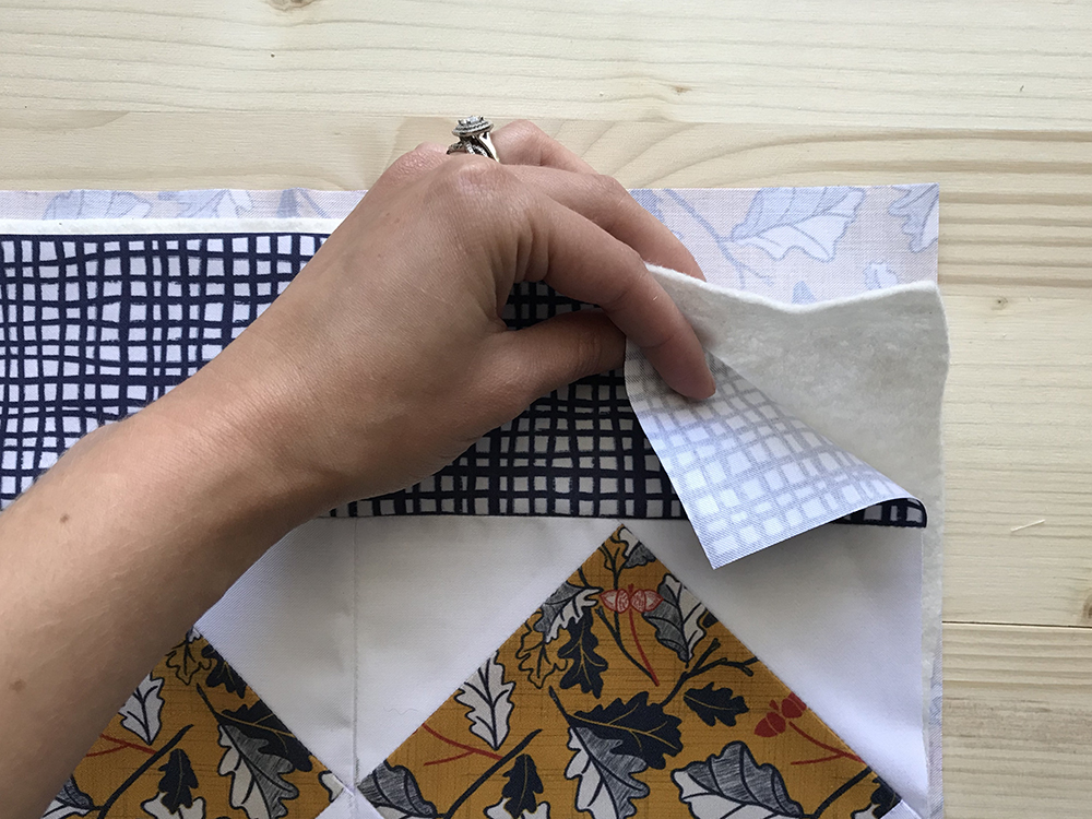 Layer your placemat for quilting | Spoonflower Blog