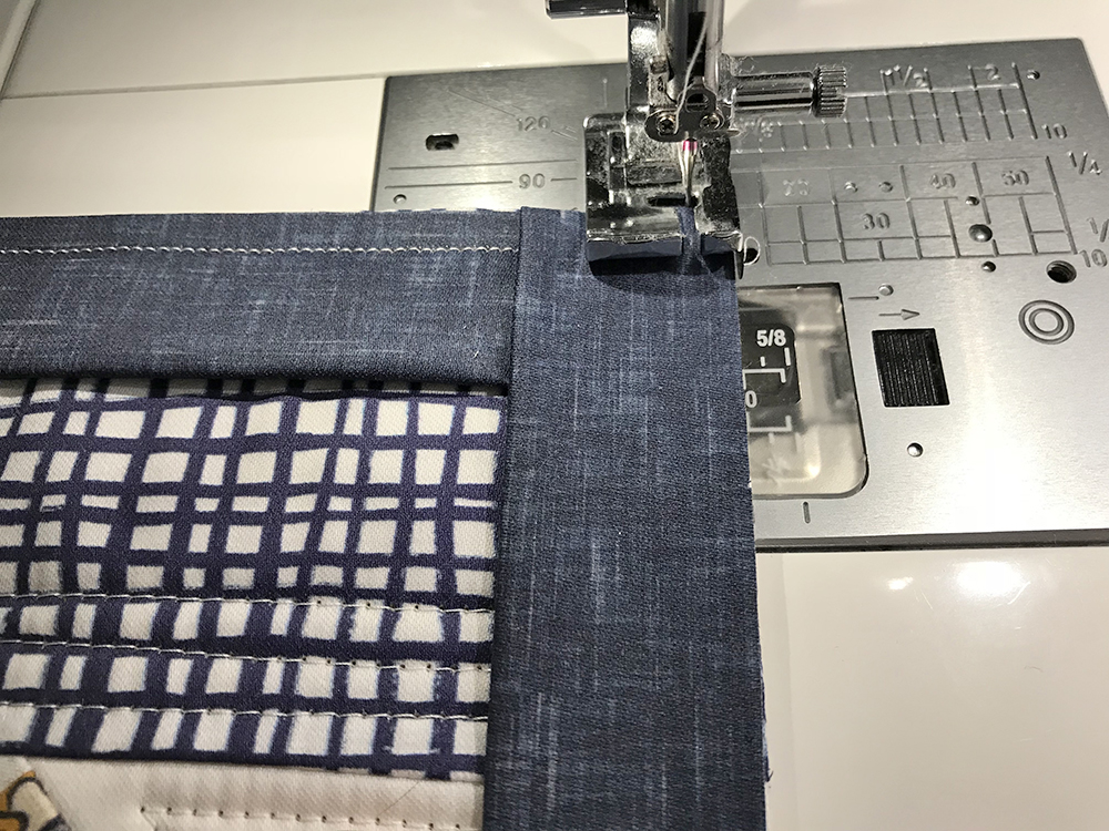 Attach the quilt binding | Spoonflower Blog
