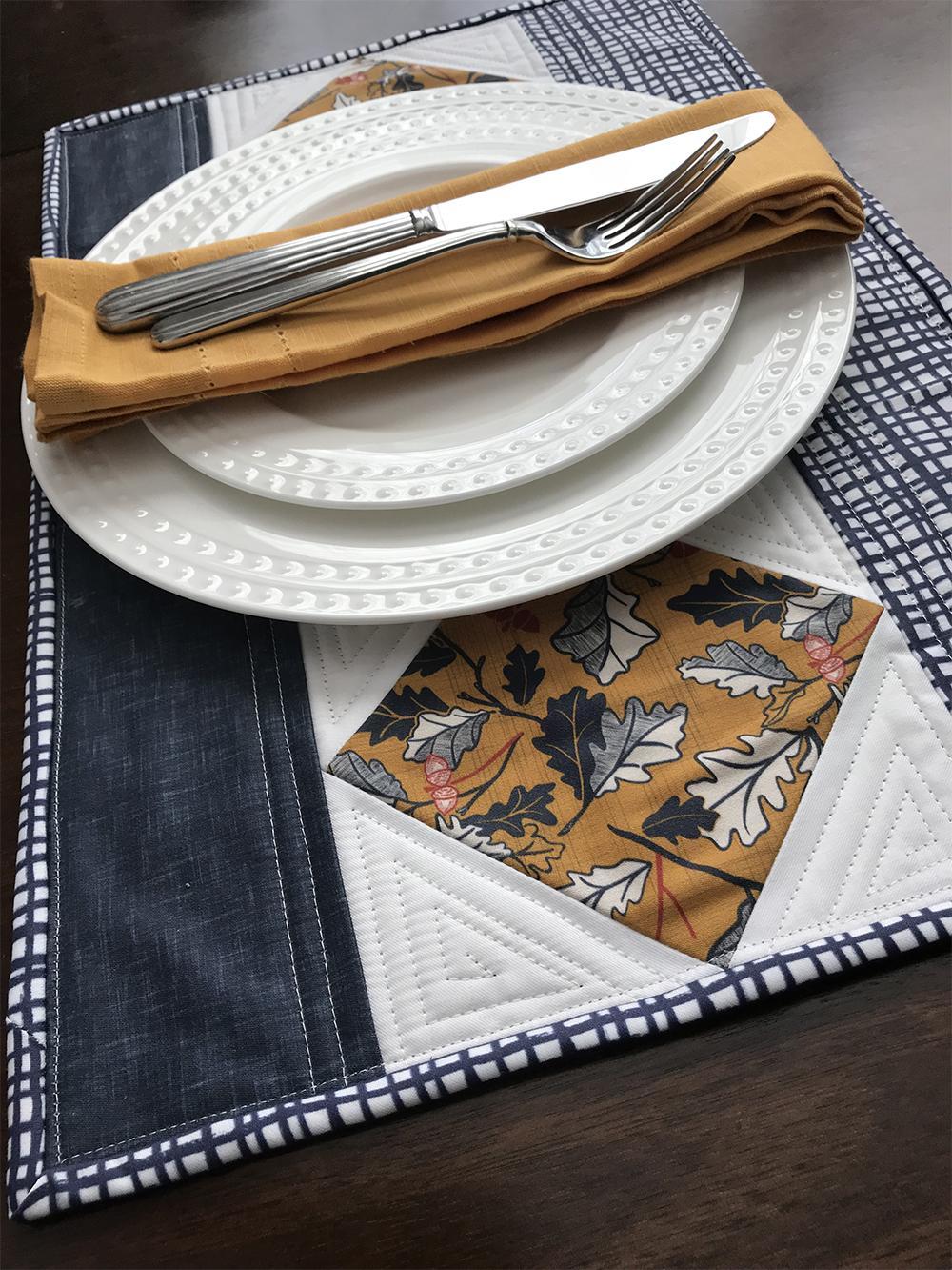Quilted placemat | Spoonflower Blog