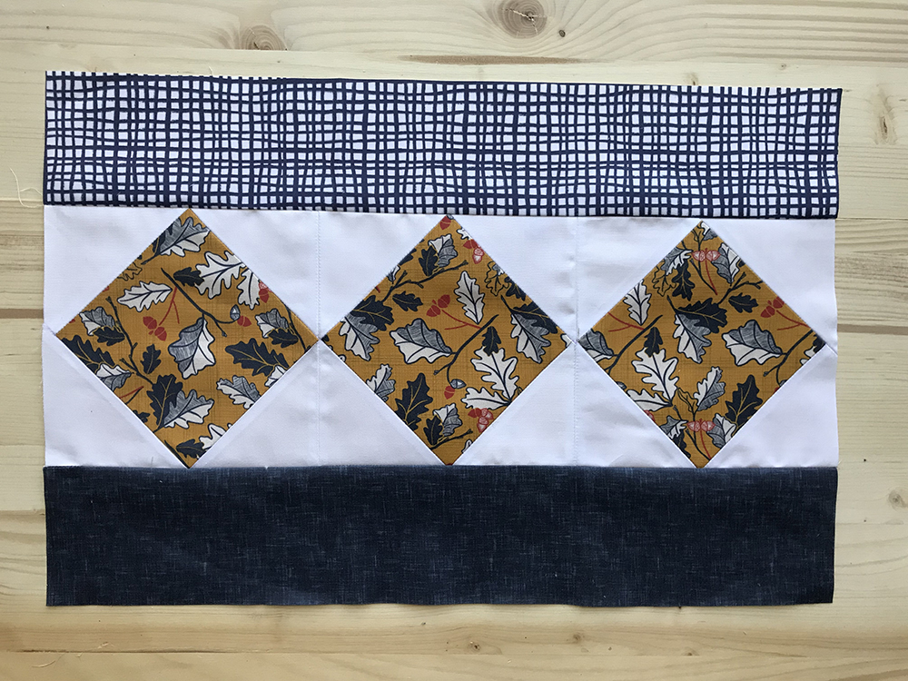 Placemat top before quilting! | Spoonflower Blog