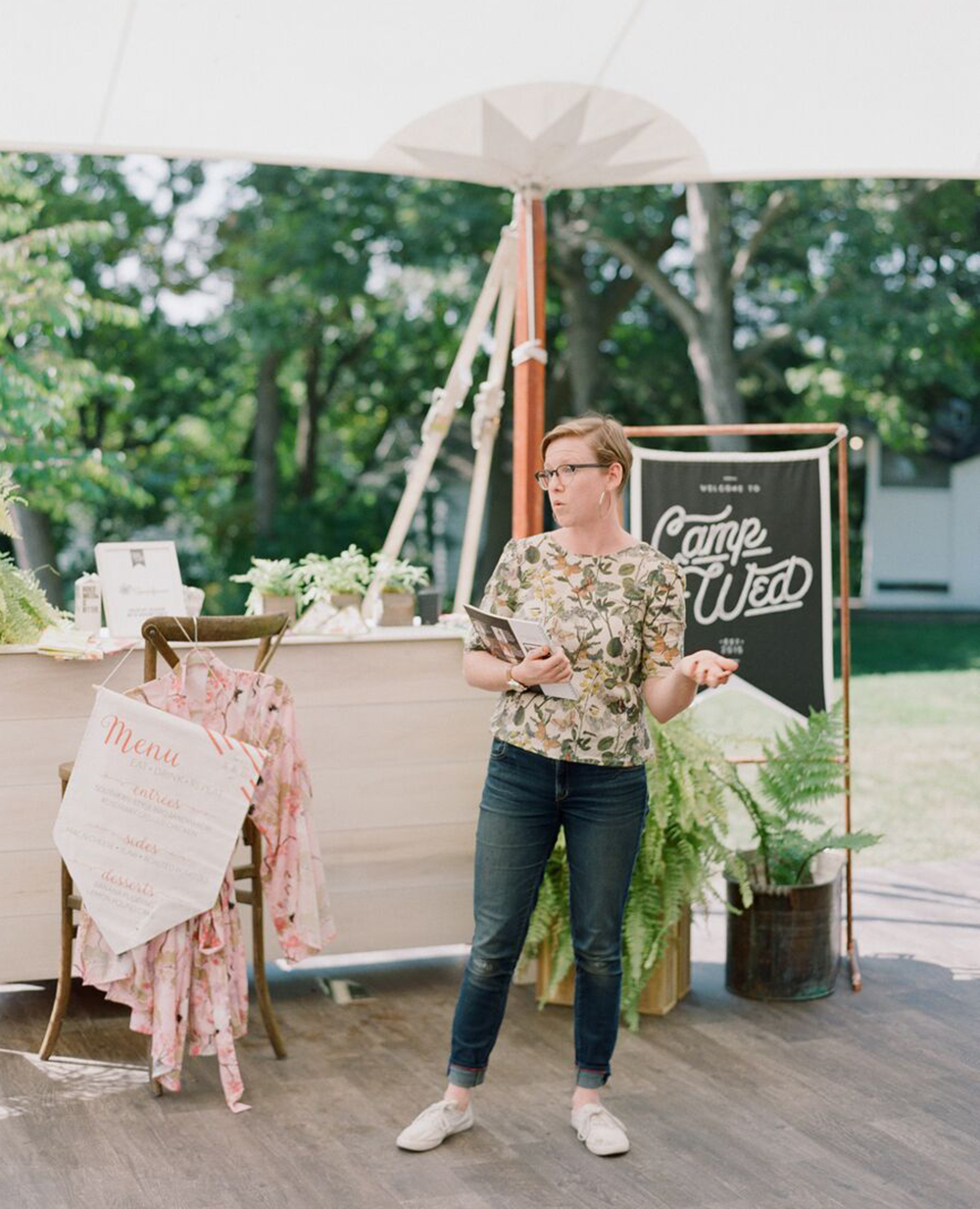 Spoonflower team member Katie shared different ways wedding planners could incorporate Spoonflower with their clients! | Spoonflower Blog
