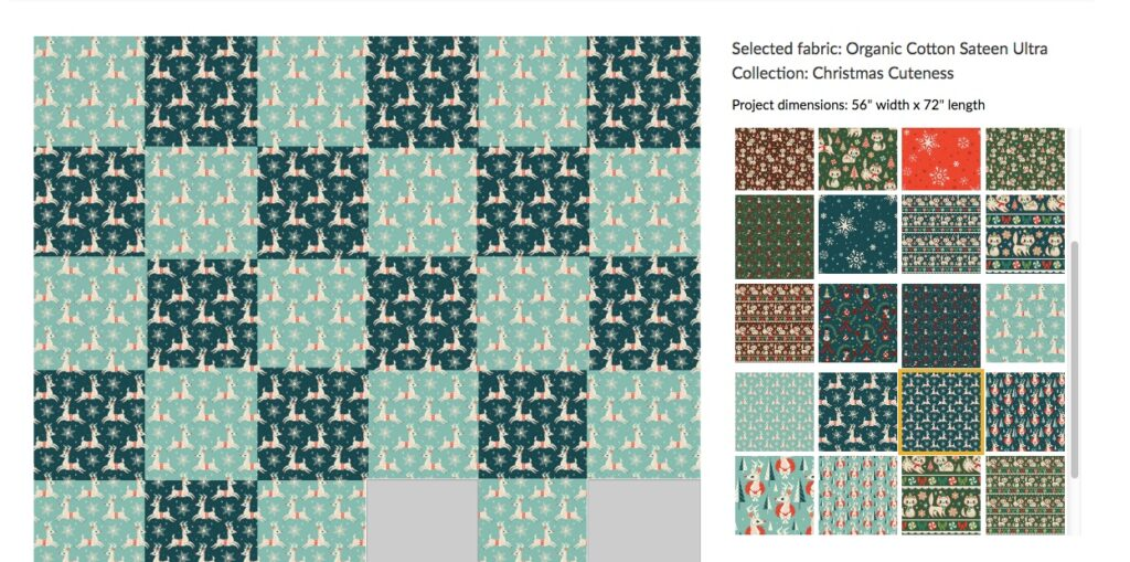 Fill-a-Yard Cheater Quilt template | Spoonflower Blog