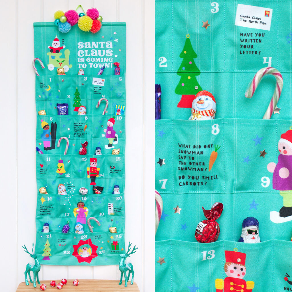 DIY Advent Calendar | Spoonflower Blog