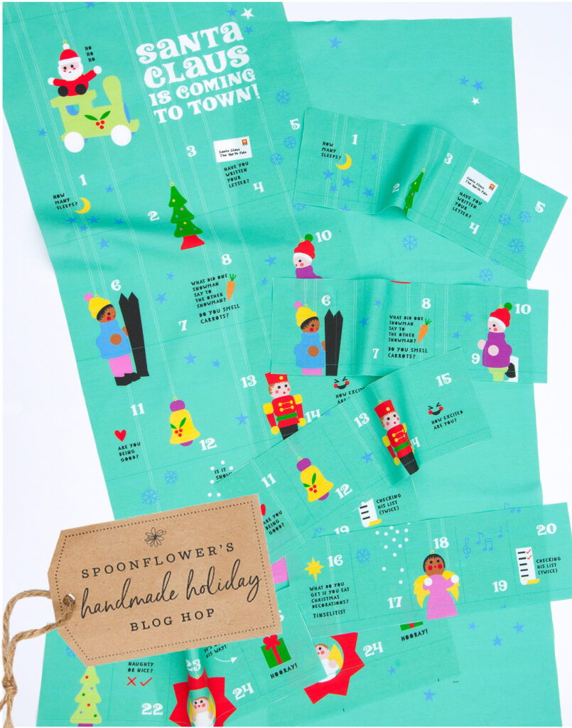 DIY Advent Calendar - Materials | Spoonflower Blog