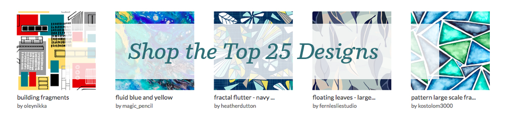 Shop the top 25 Large Scale Fragmentation designs | Spoonflower Blog