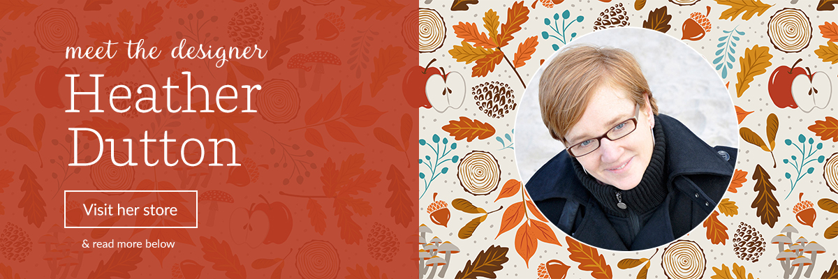 Meet the Designer: Heather Dutton | Spoonflower Blog