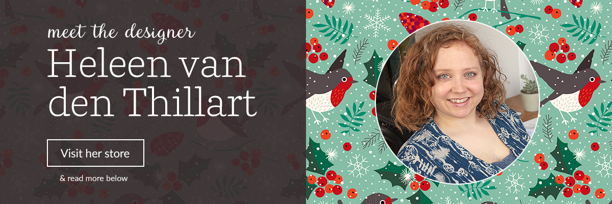 Meet the designer: Heleen van den Thillart | Spoonflower Blog
