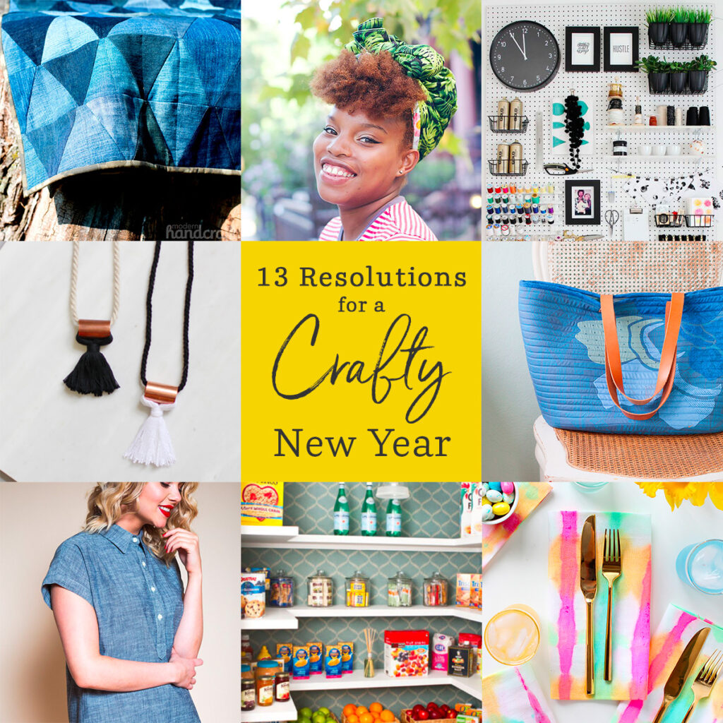 13 Resolutions for a Crafty New Year | Spoonflower Blog