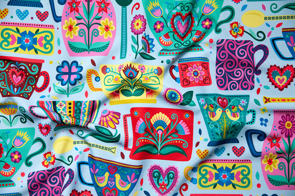 First place winner in the Hygee Design Challenge: groovity | Spoonflower Blog