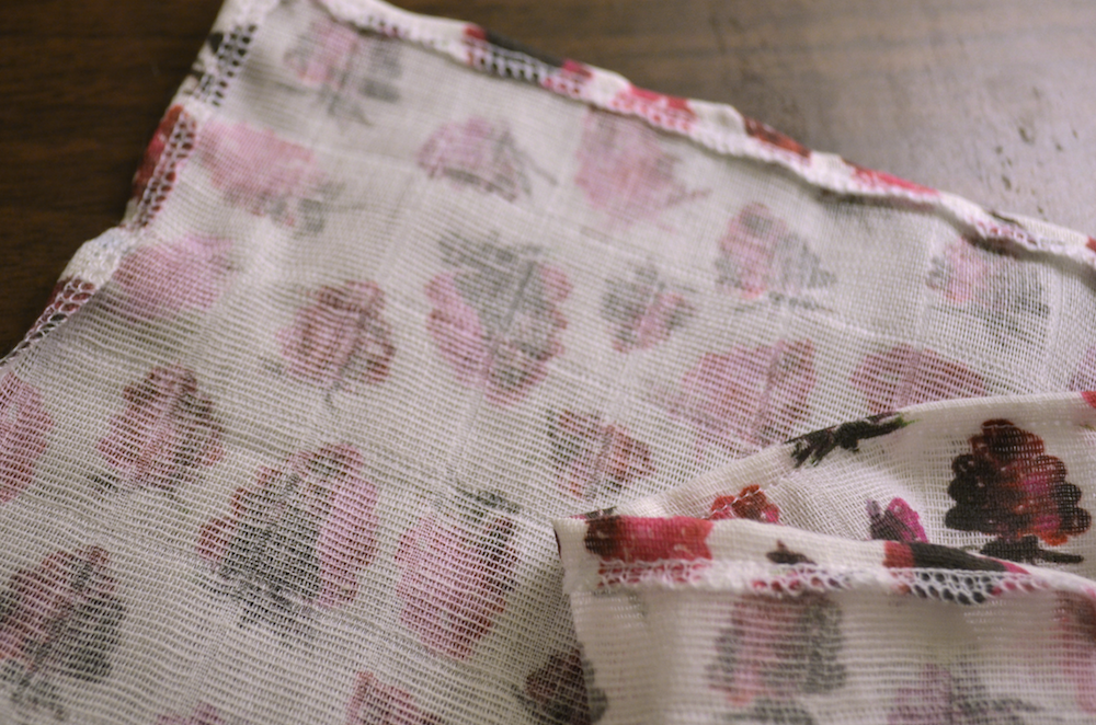 Fold ¼  inch of your edge inward, pin and sew in place | Spoonflower Blog