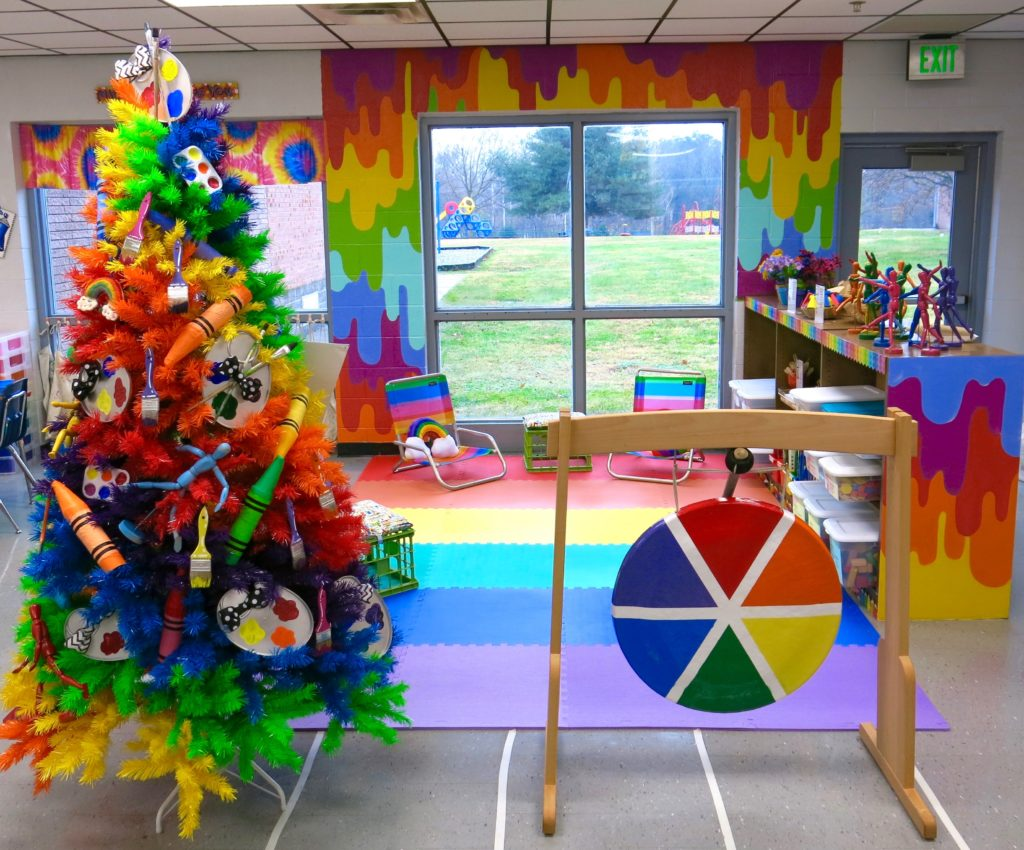 The Most Colorful Classroom We've Ever Seen! | Spoonflower Blog