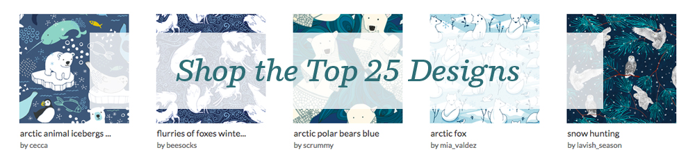 Shop the top 25 Arctic Animals designs | Spoonflower Blog
