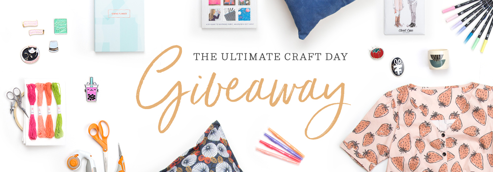Enter to win the ultimate craft day giveaway | Spoonflower Blog