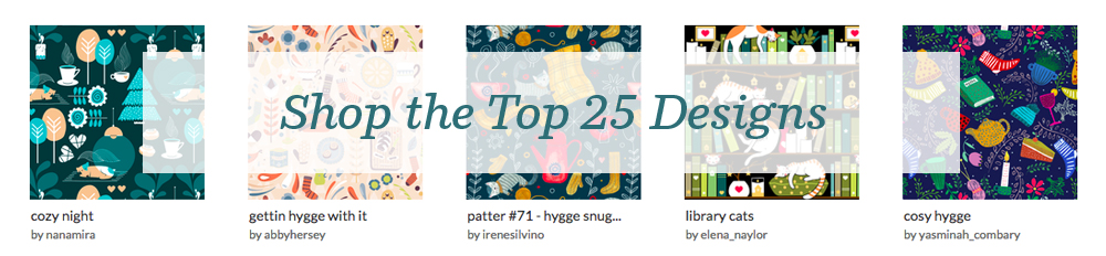 Shop the top 25 Hygge designs | Spoonflower Blog