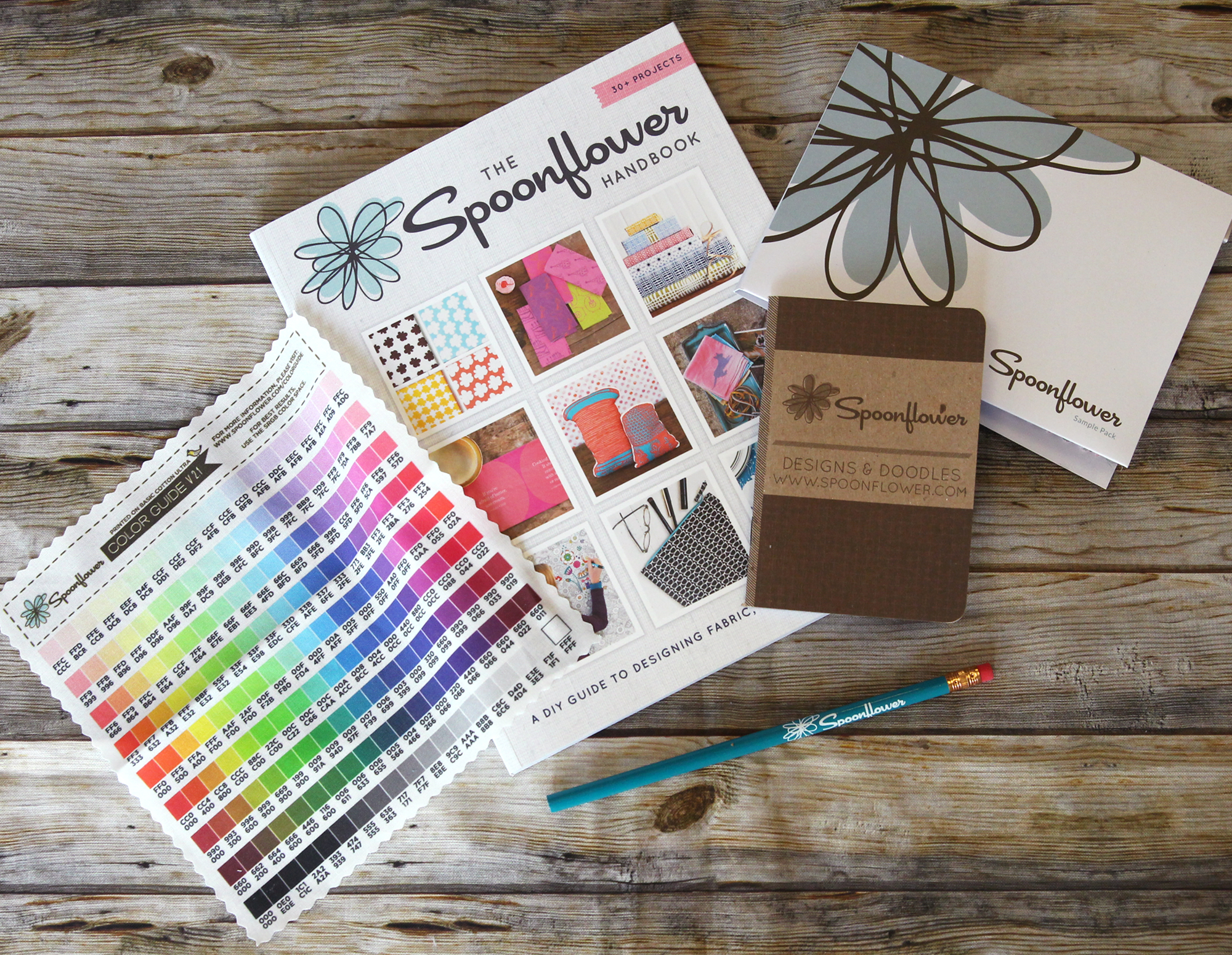 Win a Spoonflower Welcome Pack - The Ultimate Craft Day Giveaway | Spoonflower Blog
