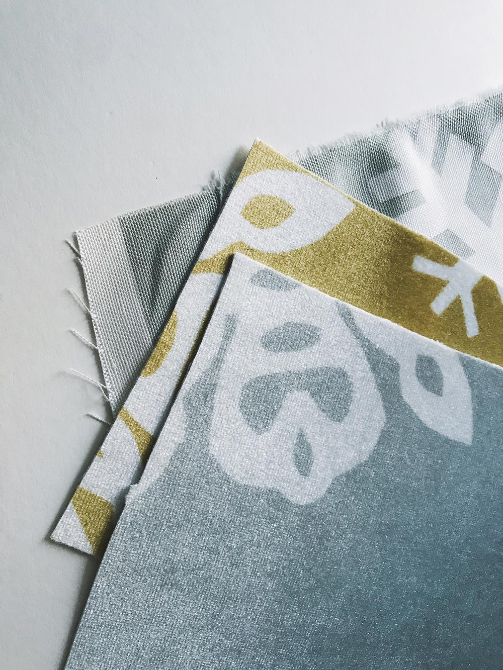 Velvet and linen cotton canvas fabric samples | Spoonflower Blog
