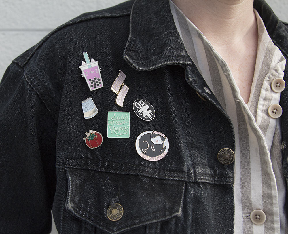 Win our favorite enamel pin collection - The Ultimate Craft Day Giveaway | Spoonflower Blog