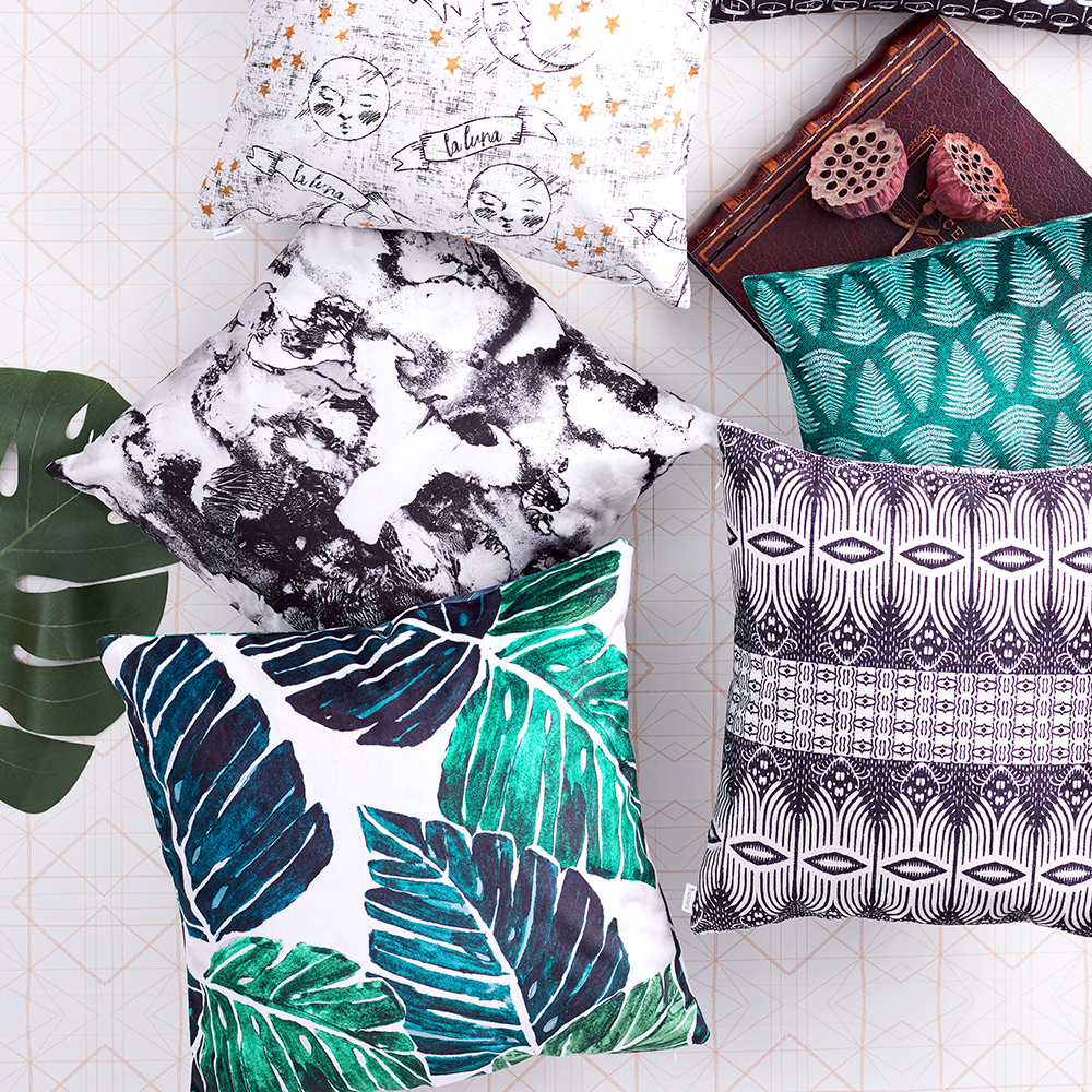 Win a Roostery Catalan Pillow - The Ultimate Craft Day Giveaway | Spoonflower Blog