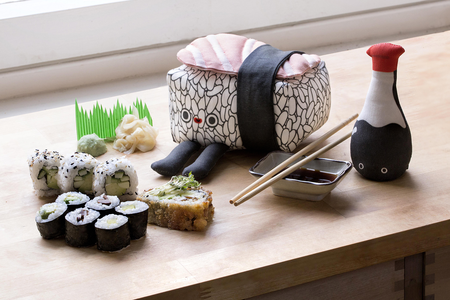 Prove your Love for Sushi with a DIY Nigiri Plushie | Spoonflower Blog