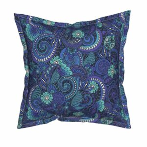 Serama Flanged Throw Pillow from Roostery | Spoonflower Blog