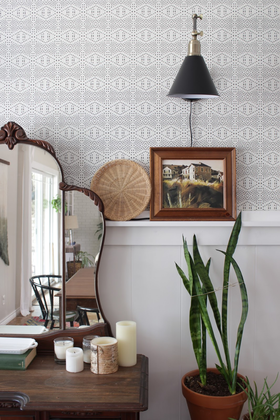 15 Wallpaper Projects to Kickstart your Fixer Upper | Spoonflower Blog