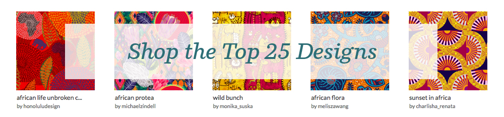 Shop the top 25 African Art designs | Spoonflower Blog