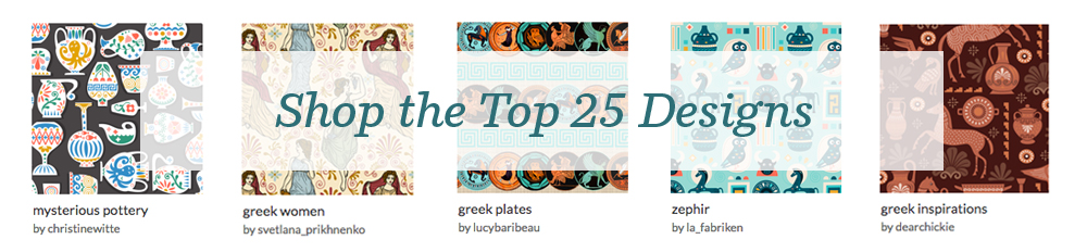 Shop the top 25 Green Art designs | Spoonflower Blog