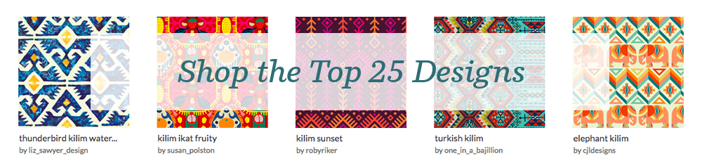 Shop the top 25 Kilim designs | Spoonflower Blog