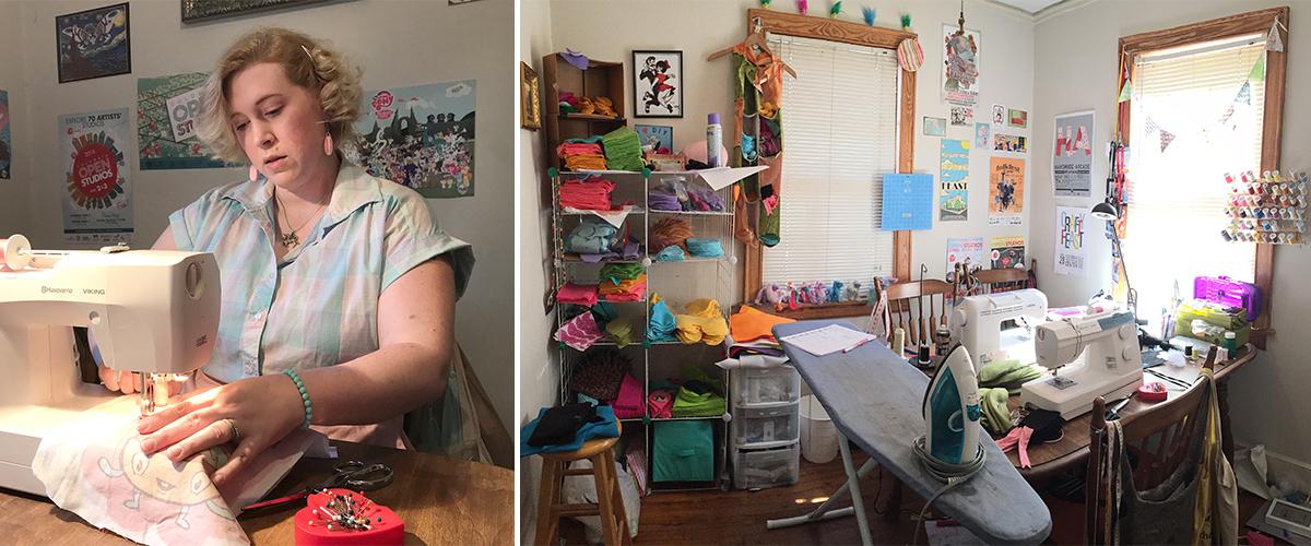 Meet the Maker: Kelly and Spencer Shull of Jellykoe | Spoonflower Blog