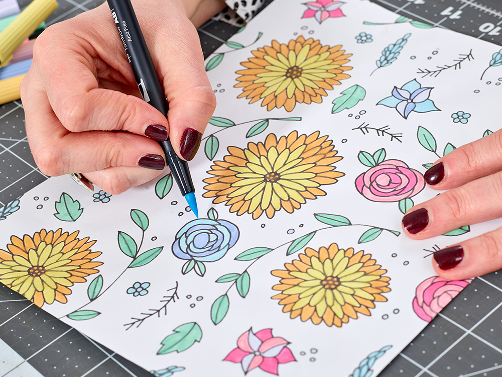 How to Create a Seamless Repeat from a Drawing | Spoonflower Blog