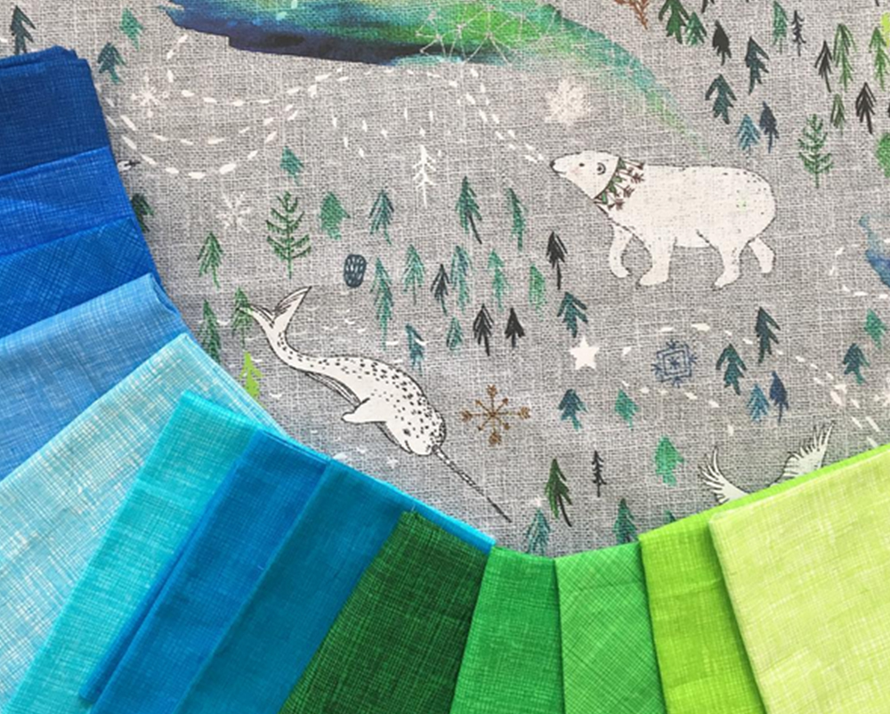 Arctic Song quilt by Kristy Lea | Spoonflower Blog