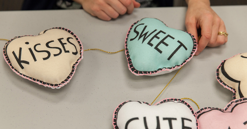 string the candy hearts | Spoonflower Blog