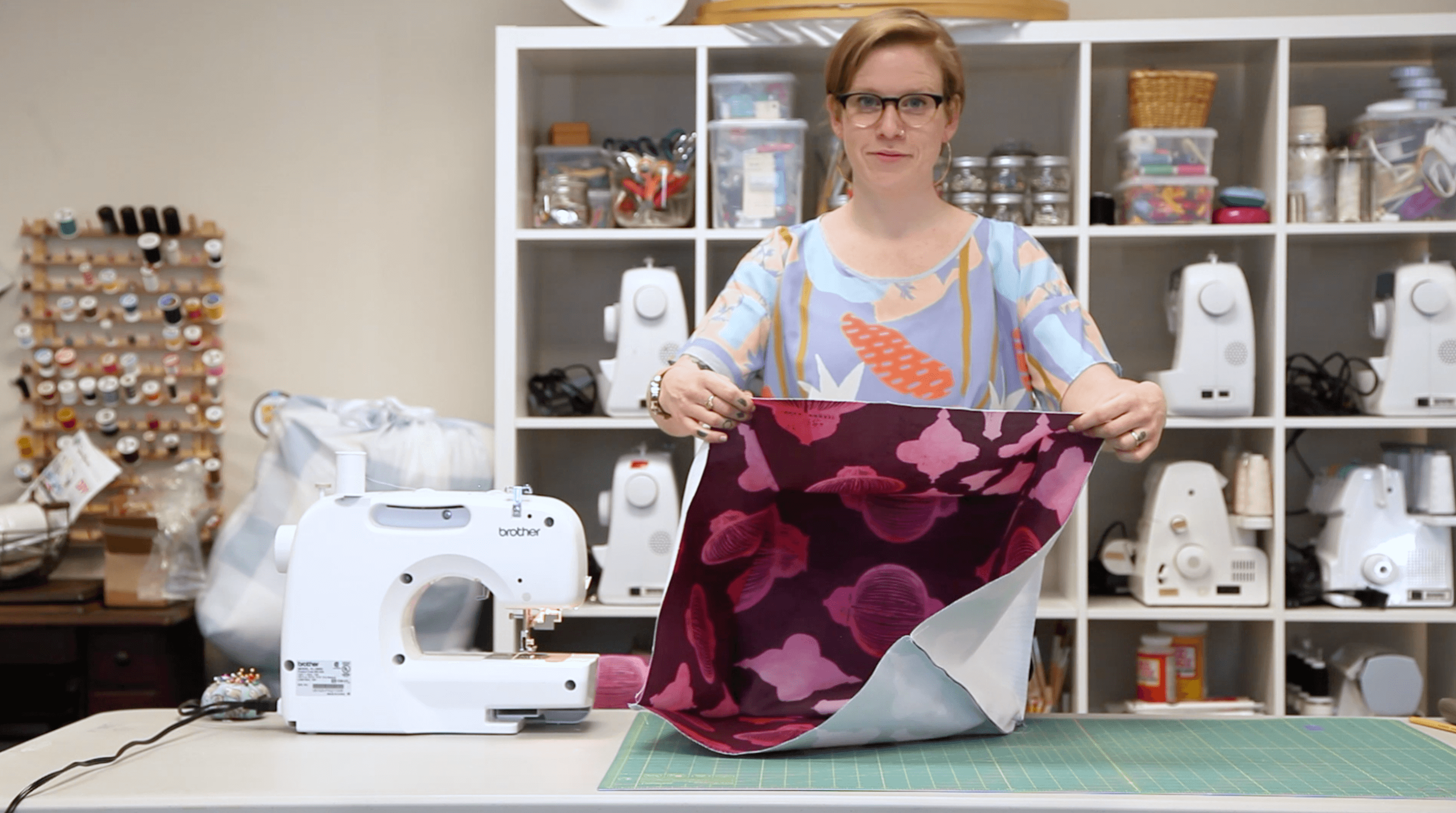 Spruce up your Ottoman with this Beautiful DIY Cover | Spoonflower Blog