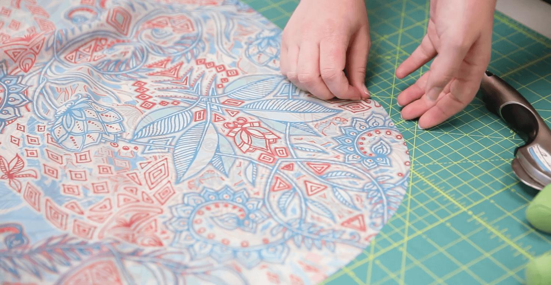 DIY Chiffon Kimono | Spoonflower Blog