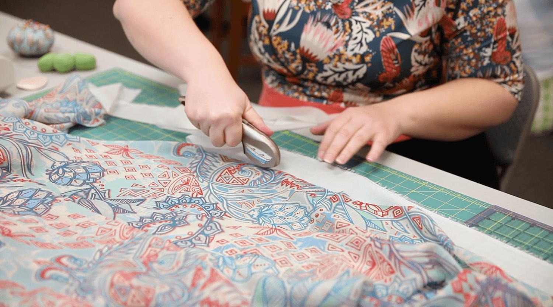 DIY Chiffon Kimono - prep your materials | Spoonflower Blog