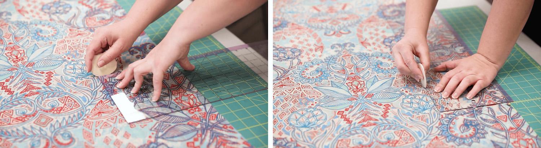 DIY Chiffon Kimono - create the sleeves | Spoonflower Blog