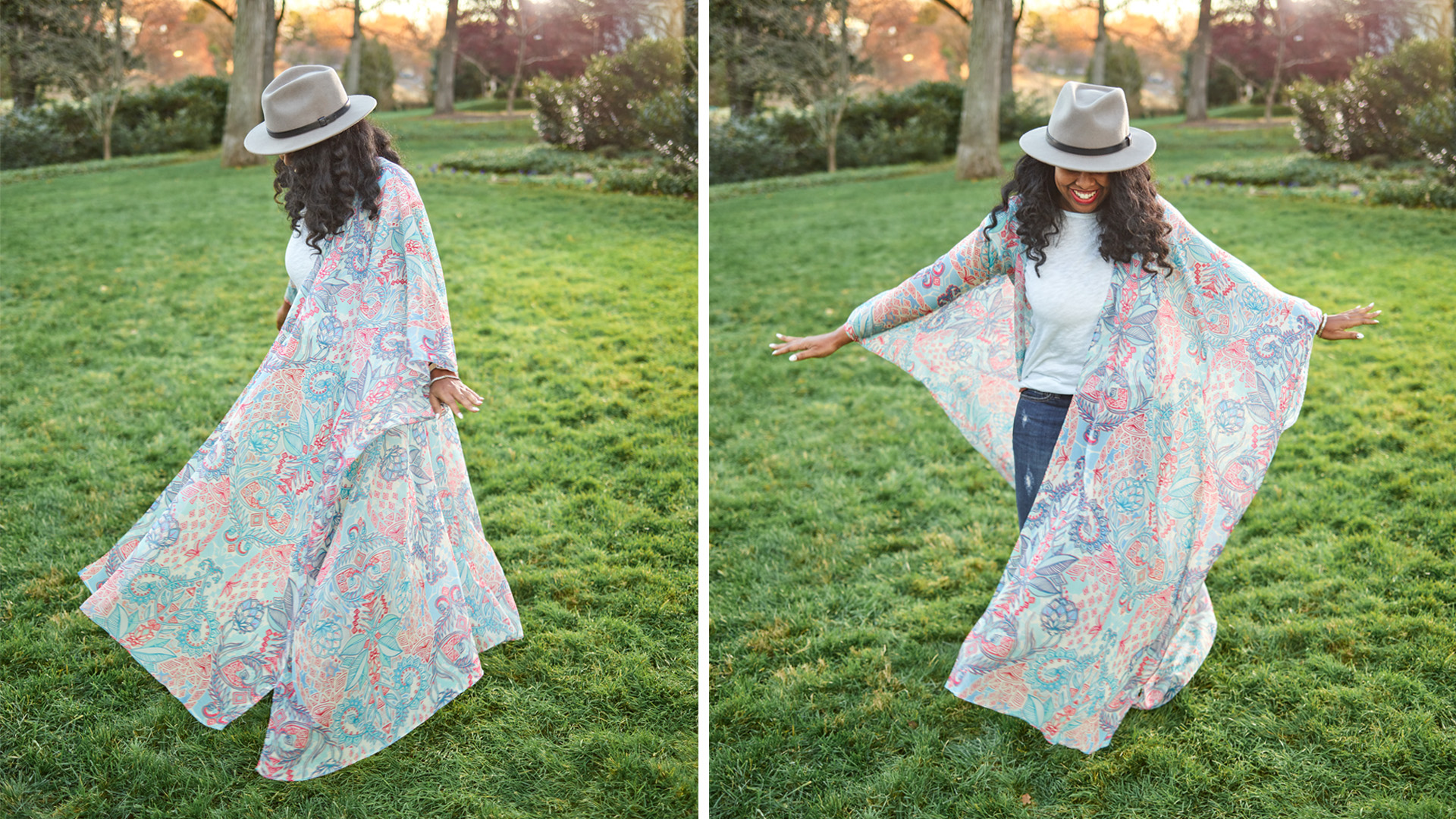 DIY-Kimono für die Festival Saison + Videoanleitung | Spoonflower Blog