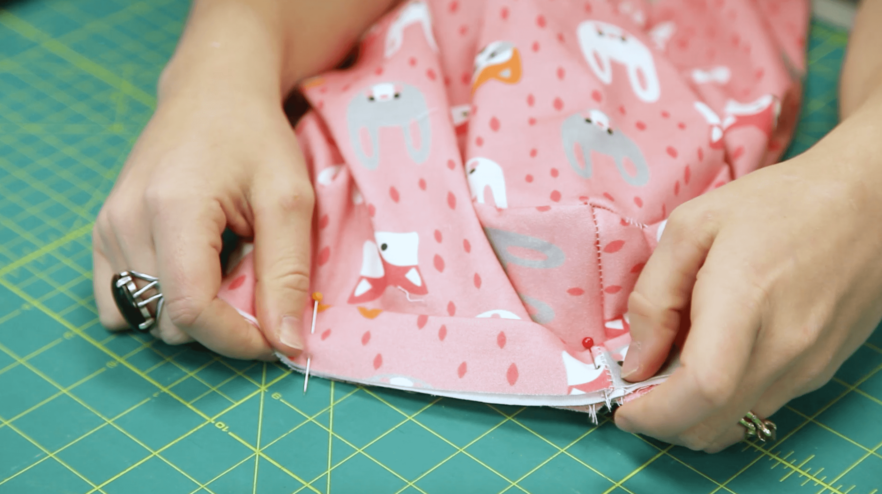 The Essential Toddler Tee - attach the neckband | Spoonflower Blog