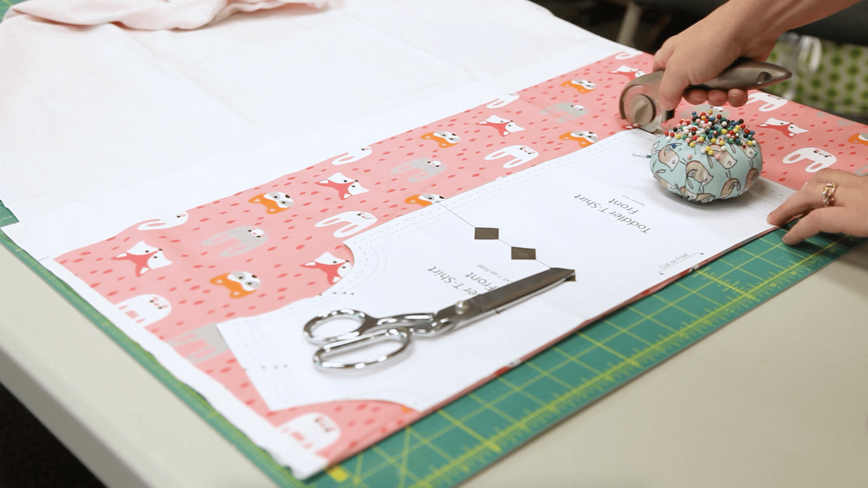 The Essential Toddler Tee - cut your pattern out | Spoonflower Blog
