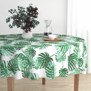 Rounded Tablecloth | Spoonflower Blog