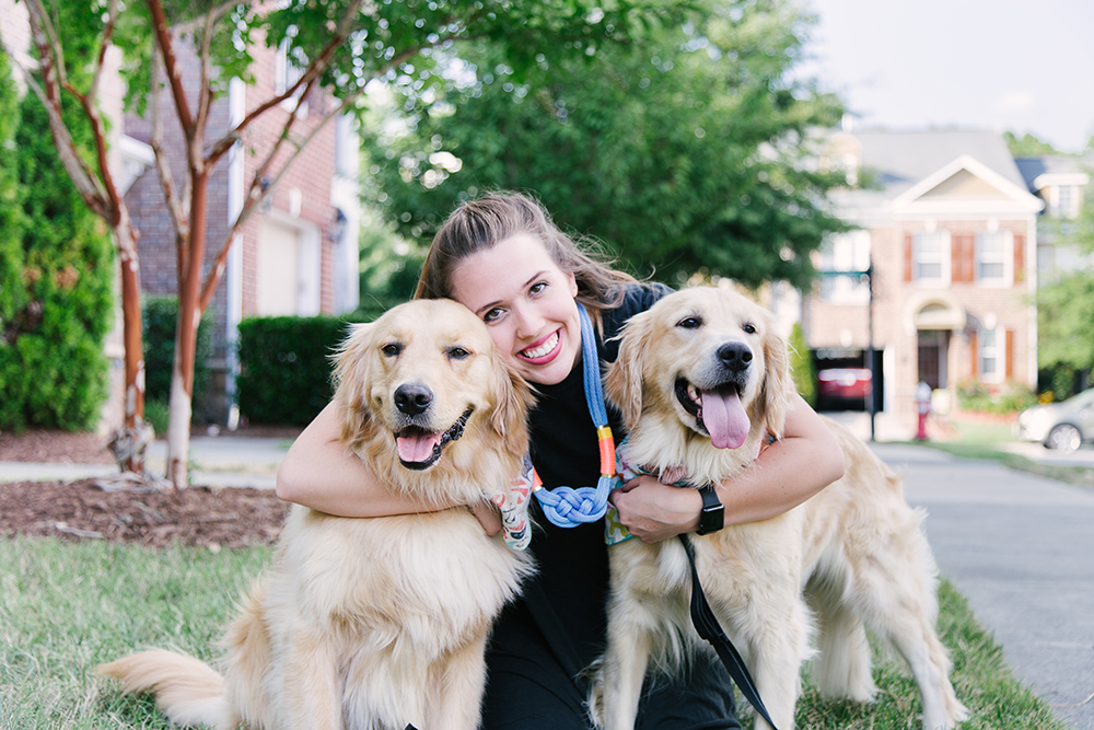 Meet the Maker: Caroline Bowers of Waggin' Tails | Spoonflower Blog