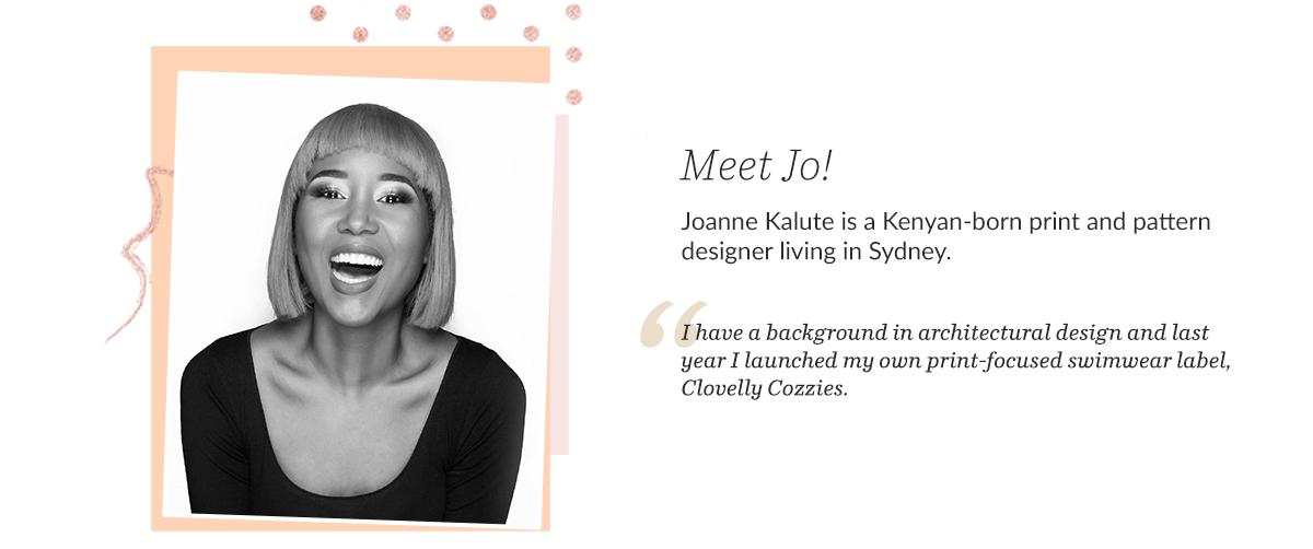 Jo Kalute - Black Surface Pattern Designer and Maker   Spoonflower Blog