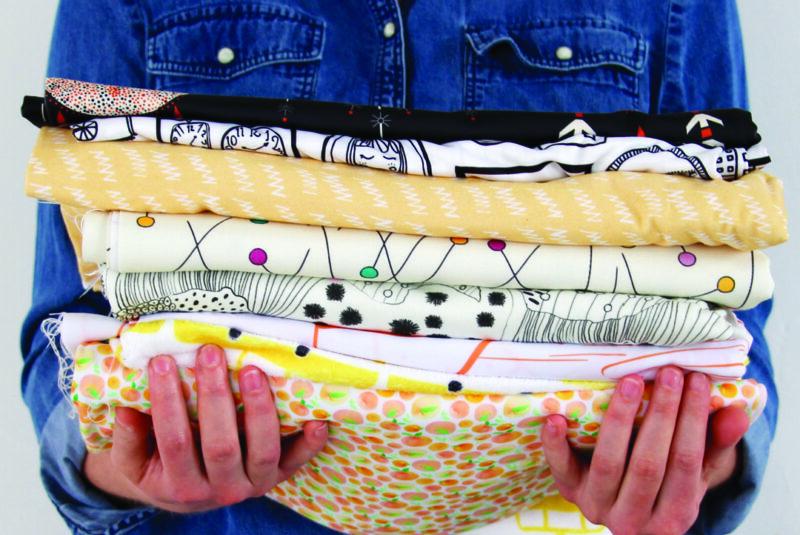 Handful of Spoonflower fabrics