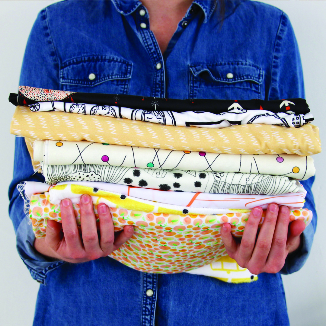 Handful of Spoonflower fabrics | Spoonflower Blog
