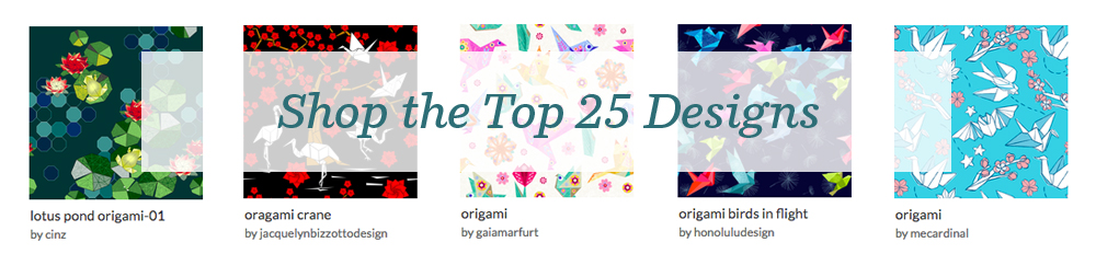 Shop the top 25 Origami designs | Spoonflower Blog